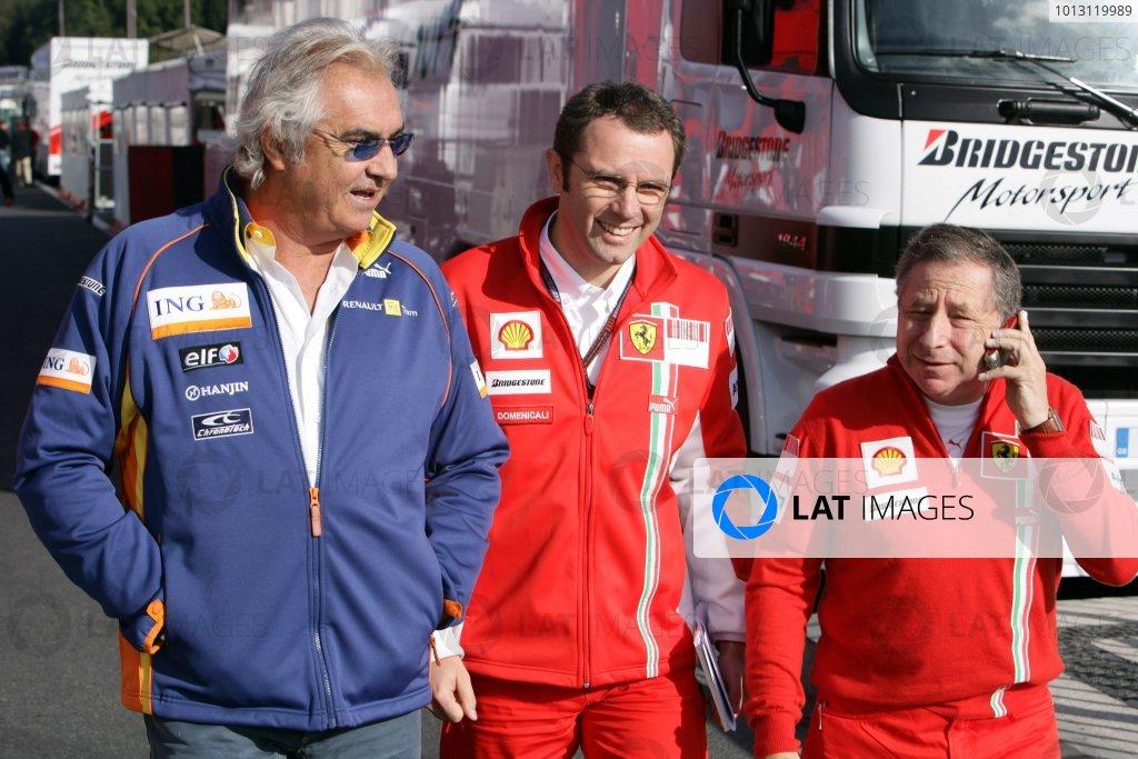 2007 Belgian Grand Prix - Saturday Qualifying