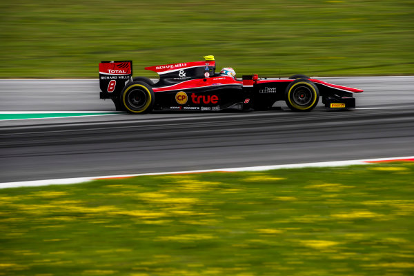 2017 FIA Formula 2 Round 5. Red Bull Ring, Spielberg, Austria. Friday 7 July 2017. Alexander Albon (THA, ART Grand Prix).  Photo: Zak Mauger/FIA Formula 2. ref: Digital Image _54I6562