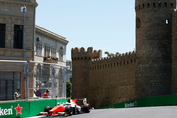 Baku City Circuit, Baku, Azerbaijan. Saturday 24 June 2017. Jordan King (GBR, MP Motorsport)  World Copyright: Hone/LAT Images ref: Digital Image _ONY9671