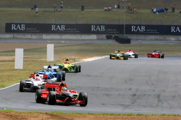 04.02 2007 Eastern Creek, Australia, Christian Murchison, Driver of A1Team Singapore - A1GP World Cup of Motorsport 2006/07, Round 7, Eastern Creek, Sunday Race 1 - Copyright A1GP - Free for editorial usage