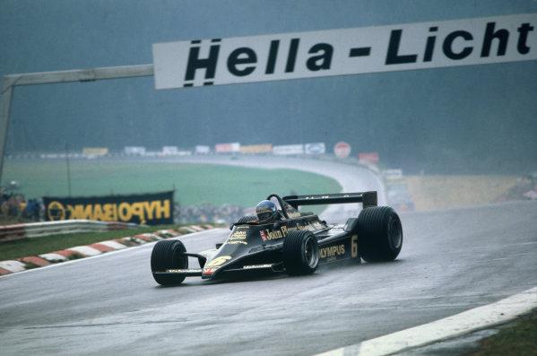 Osterreichring, Zeltweg, Austria. 11-13 August 1978.  Ronnie Peterson (Lotus 78 Ford) 1st position.  Ref: 78AUT03. World Copyright: LAT Photographic