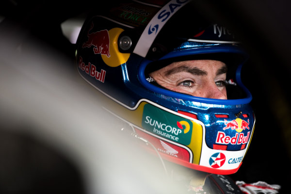 2015 V8 Supercars Round 11. Gold Coast 600, Surfers Paradise, Queensland, Australia. Friday 23rd October - Sunday 25th October 2015. Craig Lowndes driver of the #888 Red Bull Racing Holden VF Commodore. World Copyright: Daniel Kalisz/LAT Photographic  Ref: Digital Image V8SCR11_GOLDCOAST600_DKIMG2699.JPG