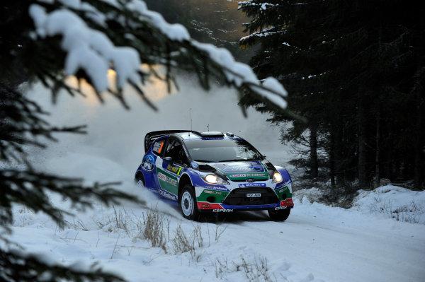Round 02 - Rally Sweden 09-12 February 2012. Jari-Matti Latvala, Ford WRC, Action  Worldwide Copyright: McKlein/LAT