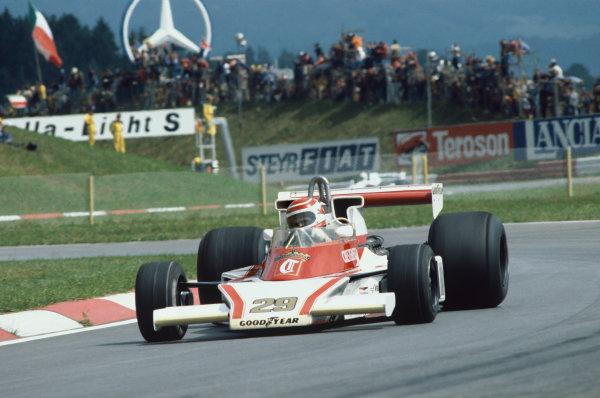 Osterreichring, Zeltweg, Austria. 11-13 August 1978. Nelson Piquet, McLaren M23 Ford, retired. Ref: 78AUT14. World Copyright - LAT Photographic