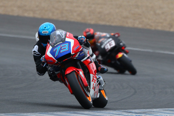 Alex Marquez and Marc Marquez, Repsol Honda Team.