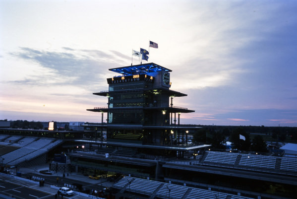 Sunrise at the Speedway.