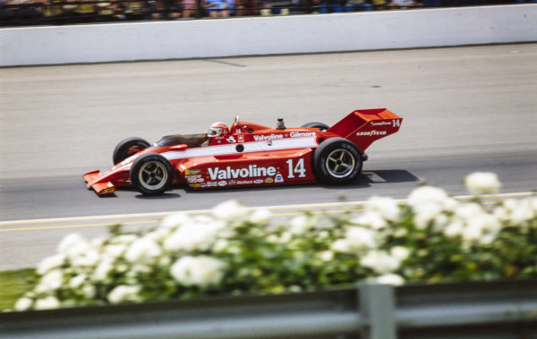 A. J. Foyt, Gilmore-Foyt Racing, Coyote 80 Cosworth.