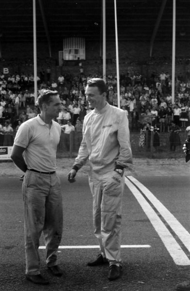 Phil Hill and Dan Gurney.