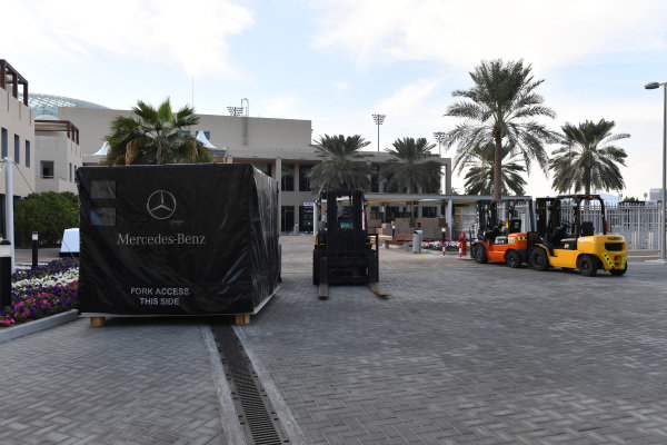 Mercedes-AMG F1 freight