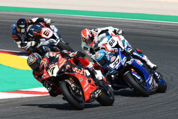 Chaz Davies, Aruba.it Racing-Ducati Team, Marco Melandri, GRT Yamaha WorldSBK, Tom Sykes, BMW Motorrad WorldSBK Team.