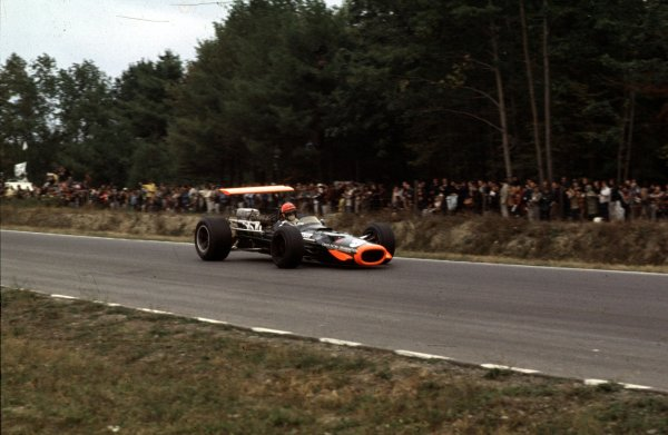1968 United States Grand Prix.Watkins Glen, New York, USA.4-6 October 1968.Bobby Unser (BRM P138).Ref-68 USA 63.World Copyright - LAT Photographic