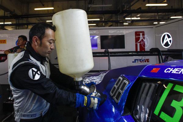 Sun Jingzu / Franky Cheng Congfu, Milestone Racing, at Blancpain GT Series Asia, Rd9 and Rd10, Shanghai, China, 23-24 September 2017.
