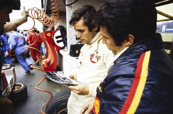 Jacky Ickx and Mario Andretti.