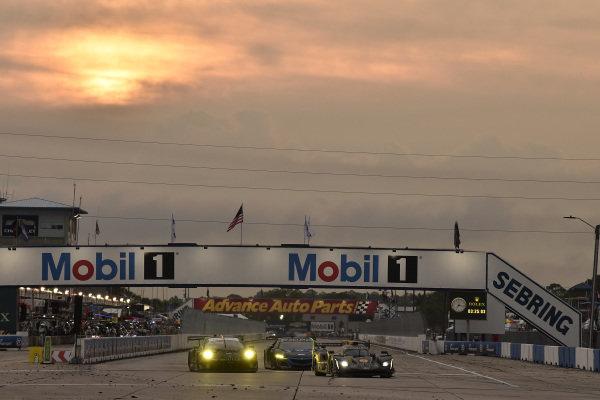 #5 Mustang Sampling Racing Cadillac DPi, DPi: Joao Barbosa, Filipe Albuquerque, Brendon Hartley, #73 Park Place Motorsports Porsche 911 GT3 R, GTD: Patrick Lindsey, Patrick Long, Nicholas Boulle