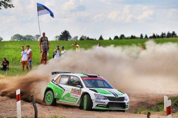 Esapekka Lappi (FIN) / Janne Ferm (FIN), Skoda Motorsport Skoda Fabia R5 RC2 at FIA World Rally Championship, Rd7, Rally Poland, Day One, Mikolajki, Poland, 1 July 2016.
