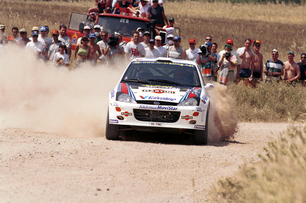 2000 World Rally ChampionshipRound 7, Acropolis Rally Greece9th -11th June 2000Carlos Sainz in action in the Ford Focus.Photo: McKleinTel: +44 (0)181 251 3000Fax: +44 (0)181 251 3001Somerset House,Somerset Road,Teddington,Middlesex,TW11 8RUUnited Kingdon.