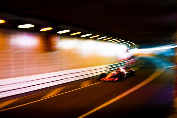Monte Carlo, Monaco. Thursday 25 May 2017. Lewis Hamilton, Mercedes F1 W08 EQ Power+. World Copyright: Andy Hone/LAT Images ref: Digital Image _ONY8232