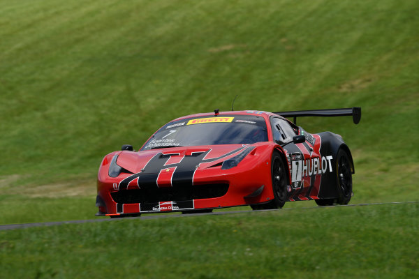 Pirelli World Challenge Grand Prix of VIR Virginia International Raceway, Alton, VA USA Friday 28 April 2017 Martin Fuentes/Stefan Johansson World Copyright: Richard Dole/LAT Images ref: Digital Image RD_PWCVIR_17_68