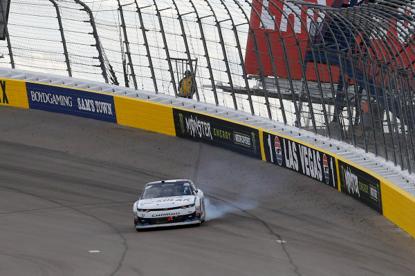 NASCAR Xfinity Series Boyd Gaming 300 Las Vegas Motor Speedway, Las Vegas, NV USA Saturday 3 March 2018 Kyle Larson, Chip Ganassi Racing, Chevrolet Camaro DC Solar World Copyright: Russell LaBounty NKP / LAT Images / LAT Images
