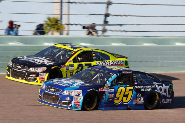 Monster Energy NASCAR Cup Series Ford EcoBoost 400 Homestead-Miami Speedway, Homestead, FL USA Sunday 19 November 2017 Michael McDowell, Leavine Family Racing, Chevrolet SS World Copyright: Matthew T. Thacker LAT Images