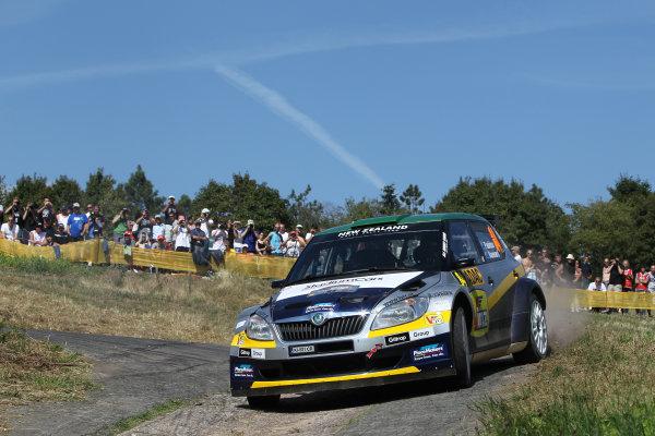 2013 FIA World Rally Championship Round 09-Rally Germany 21-25/8 2013. Haydon Paddon, Skoda, Action  Worldwide Copyright: McKlein/LAT