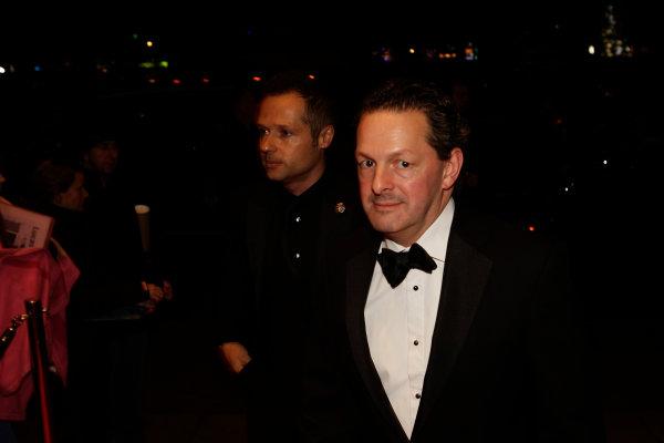 2013 Autosport Awards. Grosvenor House Hotel, Park Lane, London. Sunday 1st December 2013. Guests arrive at the awards. World Copyright: Sam Bloxham/LAT Photographic. ref: Digital Image _LOX6209