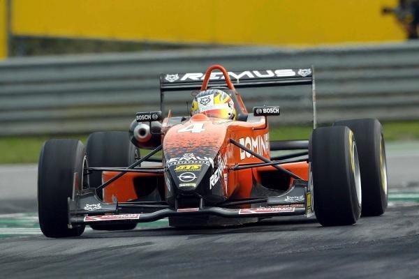 Andreas Zuber (AUT) Team Rosberg Dallara Opel.F3 Euro Series, Rd13 & Rd14, A1-Ring, Austria, 6 September 2003.DIGITAL IMAGE