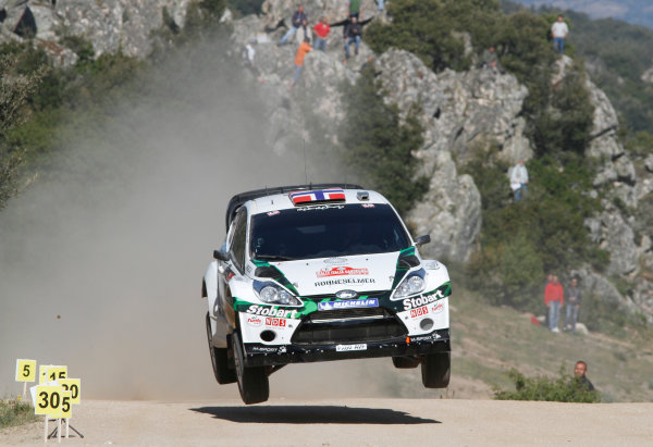 Round 05-Rally Italia Sardegna. 05th-08th May 2011.Mads Ostberg, Ford WRC, Action.Worldwide Copyright: McKlein/LAT