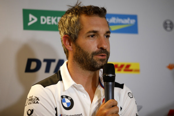 Press Conference, Timo Glock, BMW Team RMG.