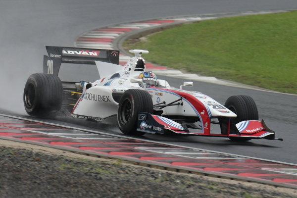 Ryo Hirakawa. Itochu Enex Team Impul SF14 Toyota, 3rd.