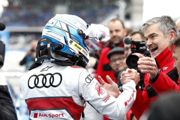 Race winner René Rast, Audi Sport Team Rosberg.