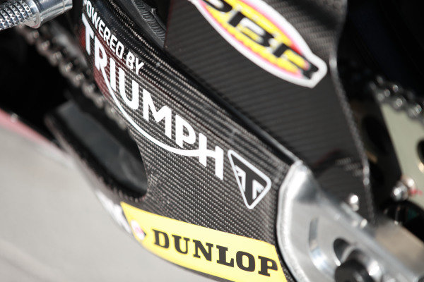 Triumph detail.