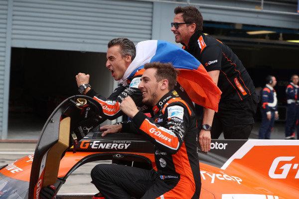 #26 Roman Rusinov / Andrea Pizzitola / Jean Eric Vergne G-DRIVE RACING D Oreca 07 - Gibson