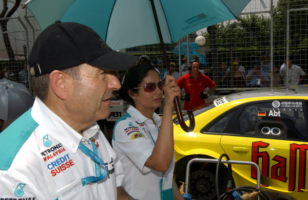 2004 Petronas Shanghai International Race Festival (DTM)Shanghai, China. 17th - 18th July.Peter Sauber on the grid.World Copyright: Andre Irlmeier/LAT Photographicref: Digital Image Only