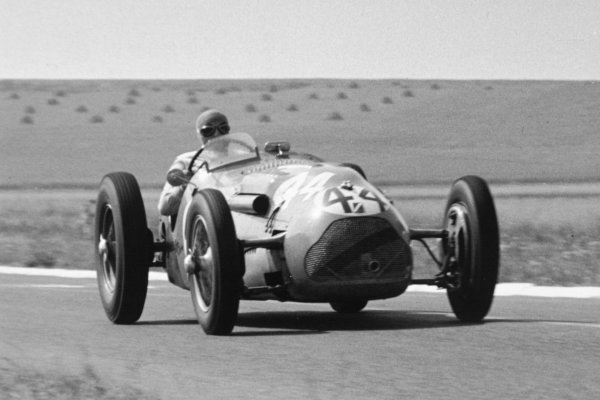 1951 French Grand Prix.Reims-Gueux, France. 1 July 1951.Eugene Chaboud (Lago-Talbot T26D-GS). Ref-51/33 #21.World Copyright - LAT Photographic