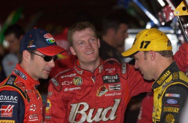 2003 NASCAR-Phoenix Intnl. Speedway,USA,Oct 31-Nov 2Jeff Gordon,Dale Earnhardt jr. and Matt Kenseth,-Robert LeSieur 2003LAT Photographic
