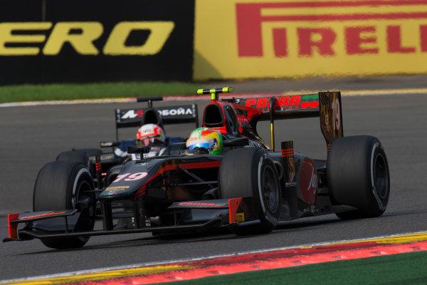 2017 FIA Formula 2 Round 8. Spa-Francorchamps, Spa, Belgium. Sunday 27 August 2017. Roberto Merhi (ESP, Rapax). Photo: Alastair Staley/FIA Formula 2. ref: Digital Image _X0W3412
