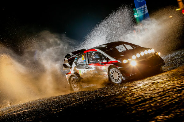 2017 FIA World Rally Championship, Round 12, Wales Rally GB, 26-29 October, 2017, Juho Hanninen, Toyota, action, Worldwide Copyright: LAT/McKlein
