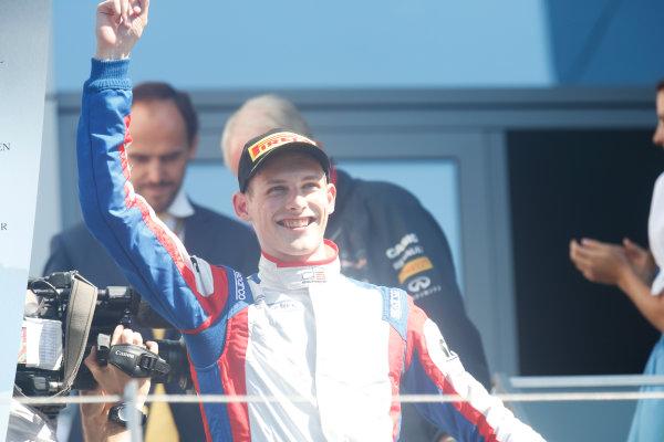 2014 GP3 Series Round 2. Red Bull Ring, Spielberg, Austria. Sunday 22 June 2014. Emil Bernstorff (GBR, Carlin)  Photo: Alastair Staley/GP3 Series Media Service. ref: Digital Image _79P6797