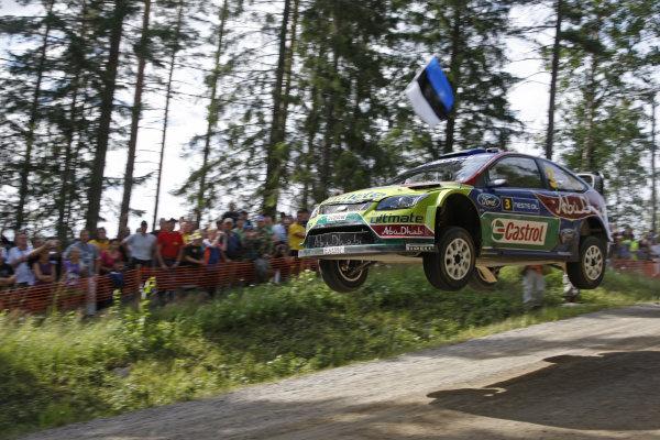 Round 09Rally Finland 39Juli-3 August  2009Mikko Hirvonen, Ford WRC, Action.Worldwide Copyright: McKlein/LAT
