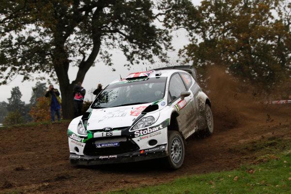 Round 13 - Wales Rally GB. 10th-13th November 2011. Matthew Wilson, Ford, ActionWorldwide Copyright: McKlein/LAT