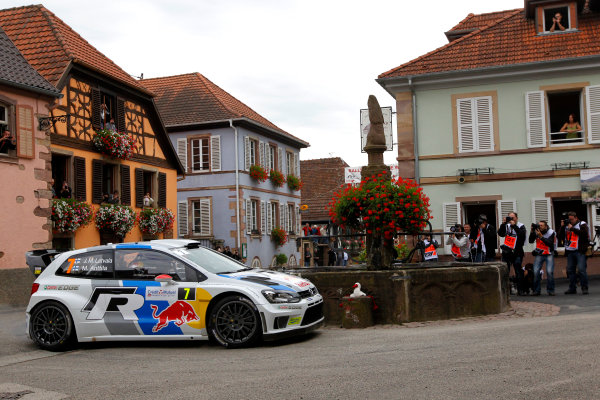 2013 FIA World Rally Championship Round 11-Rally de France 03-06/9 2013. Jari-Matti Latvala, VW, action  Worldwide Copyright: McKlein/LAT