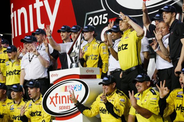 20-21 November, 2015, Homestead, Florida USA Team Penske  Xfinity Owners Champion ©2015, Matthew T. Thacker LAT Photo USA