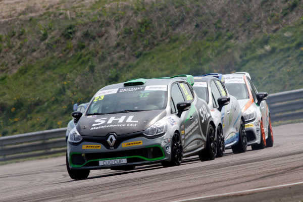2016 Renault Clio Cup, Thruton, 7th-8th My 2016 Charles Ladell (GBR) WDE Motorsport Renault Clio Cup  World copyright. Jakob Ebrey/LAT Photographic