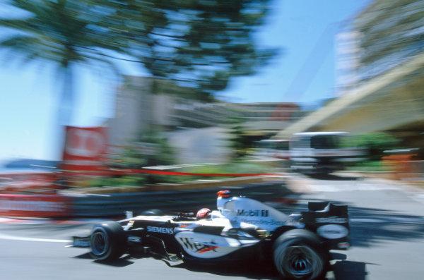 2005 Monaco Grand PrixMonte Carlo, Monaco. 19th - 22nd May Kimi Raikkonen, McLaren Mercedes MP4-20. Action. World Copyright: Lorenzo Bellanca/LAT Photographic ref: 35mm Image 05Monaco38
