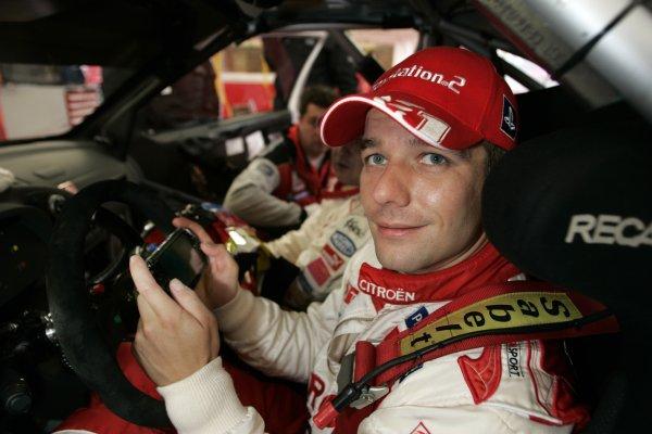 2005 FIA World Rally Champs. Round Twelve, Wales Rally GB.15th- 18th September 2005.Sebastien Loeb (Citroen Xsara WRC), plays World Rally Championship for the PSP.World Copyright: McKlein/LAT
