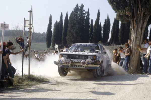 1981 World Rally Championship.San Remo Rally, Italy. 5-10 October 1981.Henri Toivonen/Fred Gallagher (Talbot Sunbeam Lotus), 2nd position.World Copyright: LAT PhotographicRef: 35mm transparency 81RALLY14