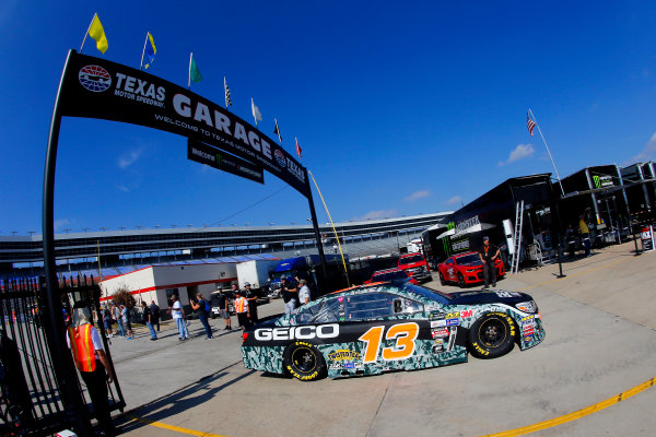 Monster Energy NASCAR Cup Series AAA Texas 500 Texas Motor Speedway Fort Worth, TX USA Saturday 4 November 2017 Ty Dillon, Germain Racing, GEICO Military Chevrolet SS World Copyright: Russell LaBounty LAT Images