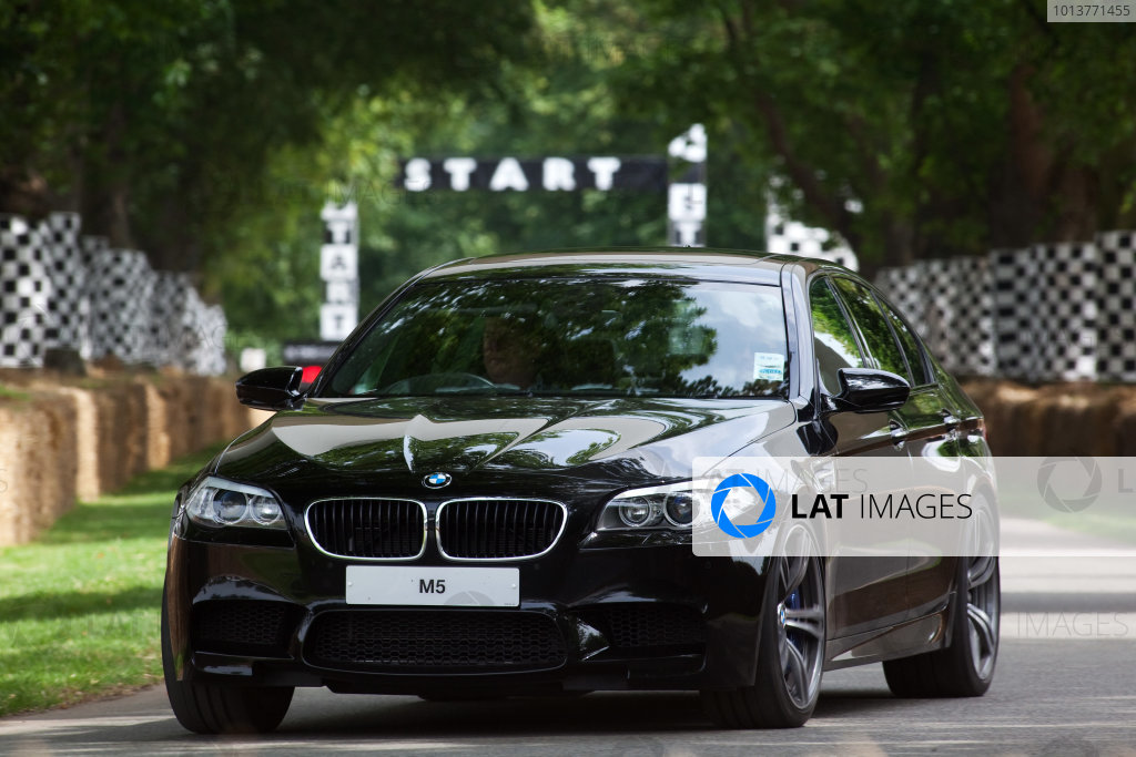2012 Goodwood Festival of Speed.Goodwood Estate, West Sussex, England.28th June - 1st July 2012.BMW M5. Action. World Copyright:  Daniel Kalisz/LAT Photographic Ref: Digital Image IMG_2301
