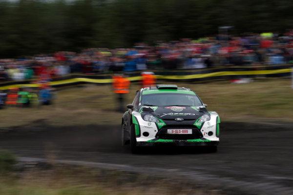Round 10- Wales Rally GB 12-16/9- 2012.Yazeed Al Rajhi, Ford S2000, ActionWorldwide Copyright: McKlein/LAT